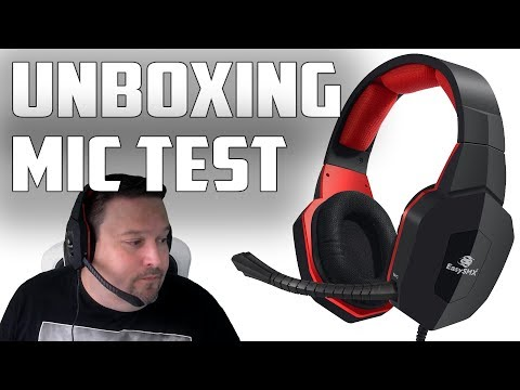 New Gaming Headset For 2017 Review and Mic Test / EasySMX 939P