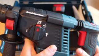 Bosch GBH 18V-26F - Teil 2: Zweiter Eindruck und Bohrtests