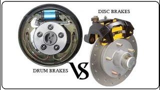Drum Brake Vs Disc Brake | Difference between Drum Brake and Disc Brake