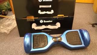 L Scooter Bluetooth Self Balance Scooter Review & Unboxing