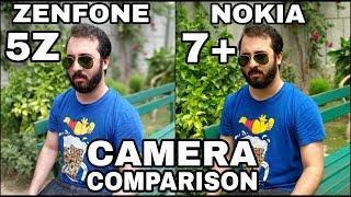 Asus Zenfone 5Z vs Nokia 7 Plus Camera Comparison | Asus Zenfone 5Z Camera Review