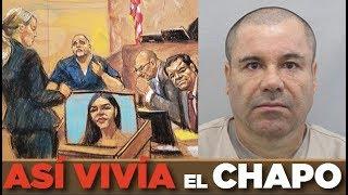 Así vivía El Chapo en las montañas #JuicioChapo