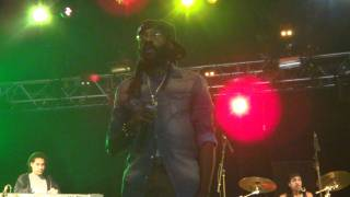 Tarrus Riley - Love's Contagious / Getty Getty / Start a New @ Dour 2011