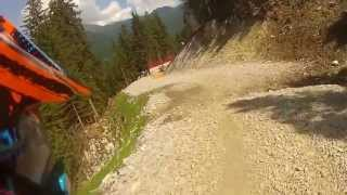 preview picture of video 'Giornata Downhill a Steinach ( Downhill Tag Steinach am Brenner)'