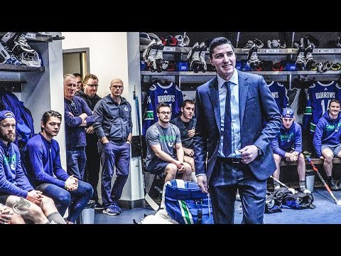 Alex Burrows Joins Canucks Ring of Honour - Behind the Scenes