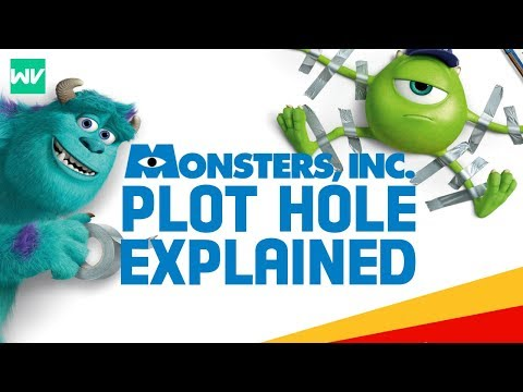 THE CONTINUITY PROBLEM IN MONSTERS INC EXPLAINED!: Discovering Pixar