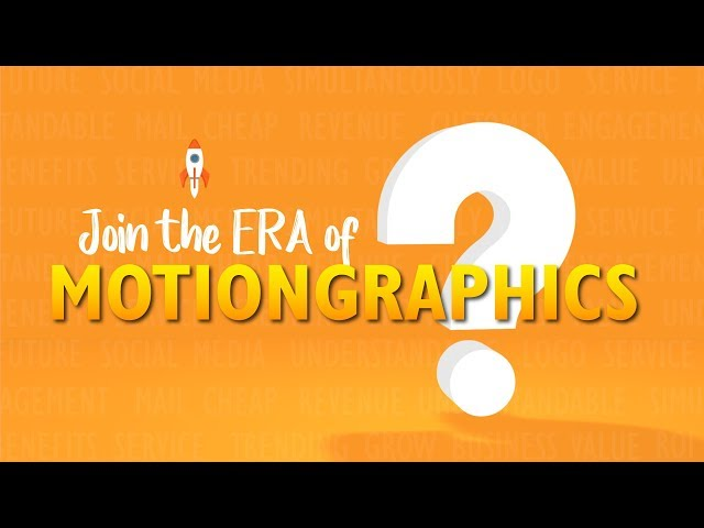What are MotionGraphics?
