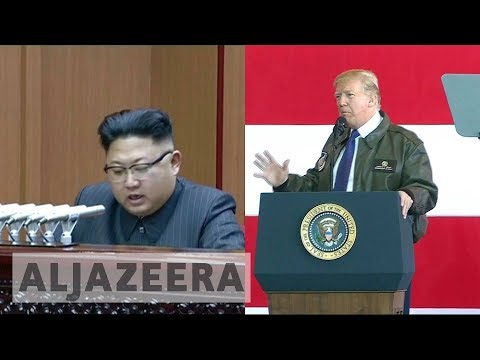 North Korea threat overshadows Trump's Seoul visit