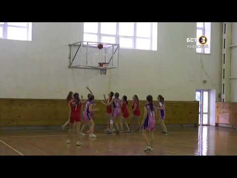 Торжественное открытие чемпионата баскетбольной лиги среди учеников