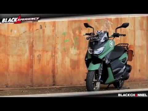 Video Modifikasi Yamaha Nmax, Back to 40's