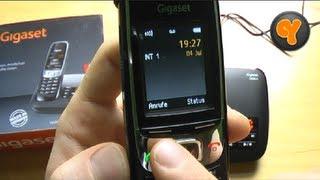 Test & Funktionen: Gigaset C620 / C620A Schnurloses DECT Telefon mit Anrufbeantworter