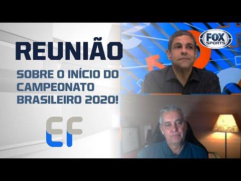 REUNIÃO SOBRE O INÍCIO DO CAMPEONATO BRASILEIRO 2020! Veja a notícia do 'Expediente Futebol'
