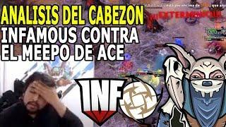 IWO Y MISTICO ANALIZAN EL INFAMOUS CONTRA EL MEEPO DE ACE