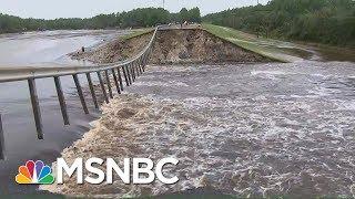 North Carolina Dam Collapses Due To Hurricane Florence Floodwaters | Hallie Jackson | MSNBC