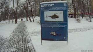 Вертолёты у Сокольников