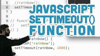 9.4: JavaScript setTimeout() Function - p5.js Tutorial