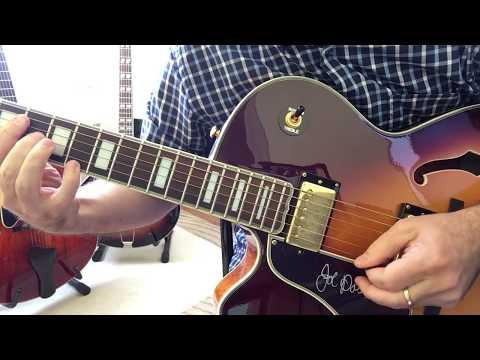Archtops Eastman 371 vs 810 vs Epi Joe Pass compared, chord melody