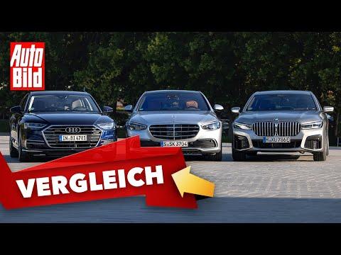 Mercedes S-Klasse (2020): Sitzprobe - Innenraum - Vergleich - BMW 7er - Audi A8 - Info