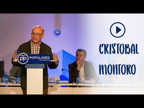 Cristobal Montoro en la Convención Nacional