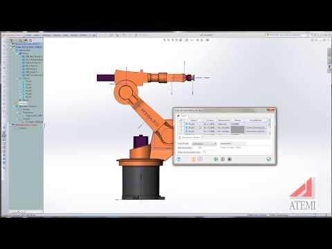 Meca3D : Apprentissage d'un robot