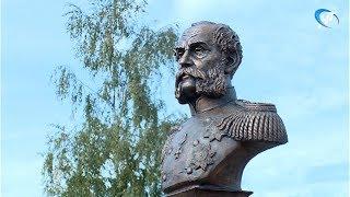 У Клуба юных моряков открылся памятник адмиралу Ефимию Путятину