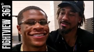 DEVIN HANEY TSTREET UNCUT! LUKE CAMPBELL NEXT? TALKS WITH HEARN & DAZN! ANDRADE STOPS BY!