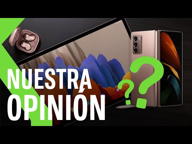 OPINIÓN Samsung Unpacked | ¿Qué pensamos de los nuevos dispositivos de Samsung? ¿Están a la altura?