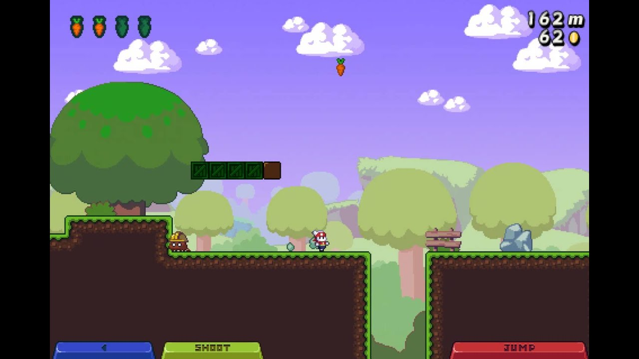 It's Super Mario As An Endless Runner — With Rabbits