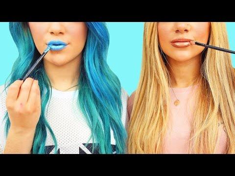 DIY MakeUp/Beauty Life Hacks! Niki and Gabi