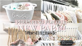 GETTING OUR HOUSE READY FOR A NEW BABY ♡ NESTING MODE!
