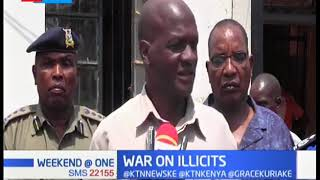 2 suspects arrested in Busia after police impound 6 ethanol drums | War on Illicits