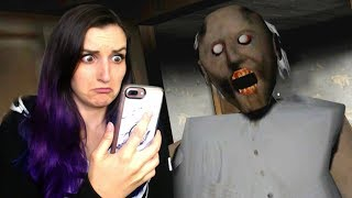 SO Scary That I Dropped My Phone On the Ground!! | GRANNY