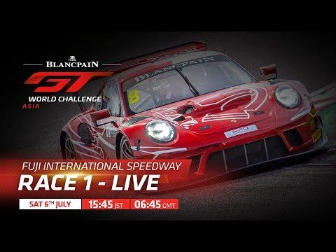 ブランパンGT アジア 鈴鹿サーキット RACE1フル動画