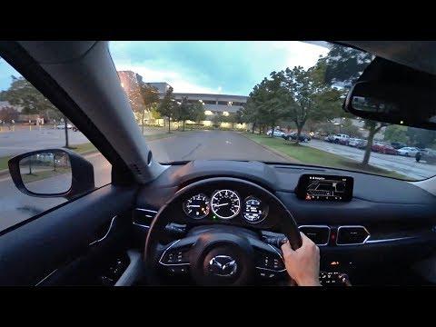 2017 Mazda CX-5 Grand Touring FWD - POV Driving Impressions (Binaural Audio)
