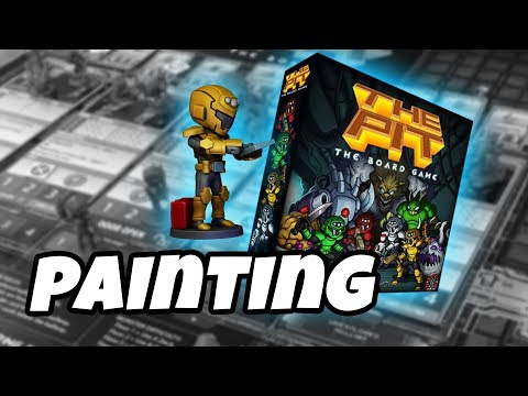 The Pit The Board Game - how to paint ENGINEER