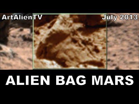 MARS Alien Leather Bag & Shoe Discovered: Curiosity Rover Anomalies. ArtAlienTV – MARS ZOO 738p