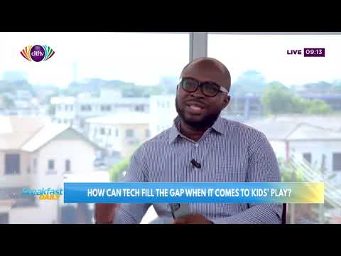 How can tech fill the gap when it comes to kids' play | Breakfast Daily