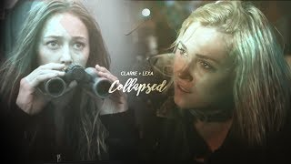 Clarke + Lexa | Collapsed [AU]