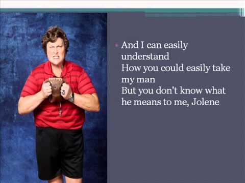 Glee Jolene Lyrics