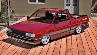 Volkswagen SAVEIRO SUMMER 97 + SOM + RODA ARO 17 - TL GAMER -