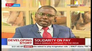 Solidarity on pay: Mps want a life of luxury at expense of tax payers