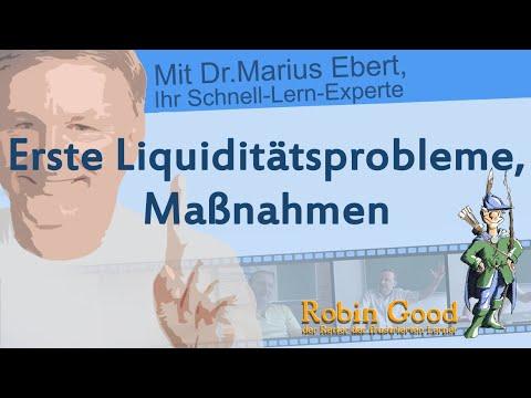 Erste Liquiditätsprobleme, Maßnahmen