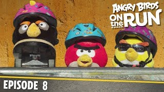 Angry Birds On The Run | Skate Board Mission   S1 Ep8