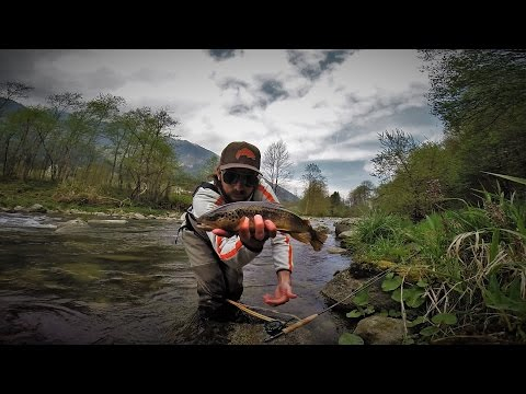 Sarca River Fly Pesca 2016 GoPro