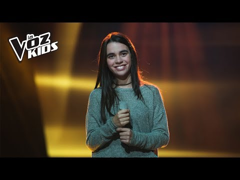 Juliana canta Aquí Estoy Yo - Audiciones a ciegas | La Voz Kids Colombia 2018