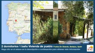 preview picture of video '2 dormitorios 1 baño Vivienda de pueblo se Vende en Puebla De Obando, Badajoz, Spain'