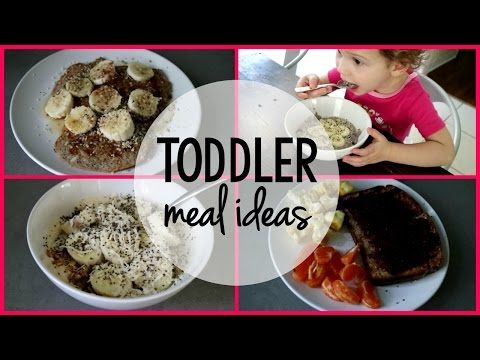 Video TODDLER MEAL IDEAS | Healthy Breakfasts for Kids