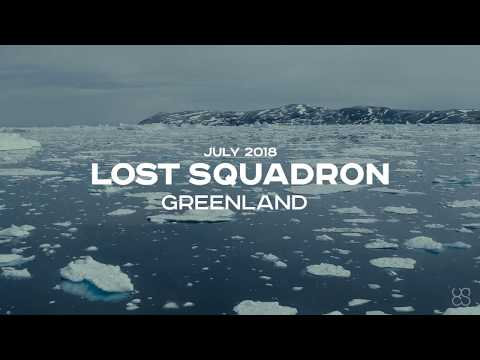 GPR+DRONE INTEGRATED SYSTEM on LOST SQUADRON EXPEDITION - GREENLAND - JULY 2018