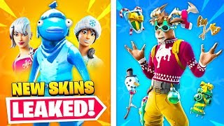Top 25 NEW Fortnite Skins THAT GOT LEAKED!