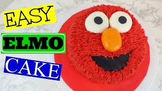 Gambar cover HOW TO MAKE AN EASY ELMO CAKE